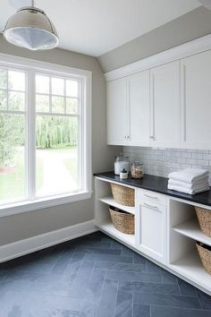 """Acquire fantastic pointers on """"laundry room storage diy cabinets"""". They are actu. Acquire fantastic pointers on """"laundry room storage diy cabinets"""". They are actually readily av Laundry Room Tile, Farmhouse Laundry Room, Laundry Room Organization, Laundry Room Design, Room Tiles Design, Dining Room Design, Diy Storage, Storage Ideas, Storage Shelves"""