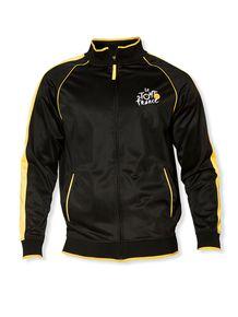 le Tour de France Zip-Thru Jacket in Black Cycling Wear 1c278ce22