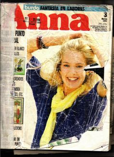 ANNA №3 1991-embroidery, crochet, knitting