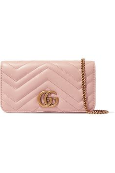 c1109399c344 Buy now ❤ ❤ Gucci - pink Gg Marmont Mini Quilted Leather Shoulder Bag