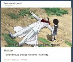 Change his name to attitude.