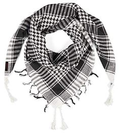 Buy LOVARZI Shemagh Cotton Arab Keffiyeh Tactical Military Scarf Head Neck Face Wrap. Explore our Boys Fashion section featuring new #shopping ideas of the best collection of #BoysFashion #BoysAccessories and #fashion products online at #Jodyshop Marketplace. Military Scarf, Shemagh Scarf, Arab Scarf, Face Wrap, Black And White Scarf, Big Shoulders, Neckerchiefs, Head And Neck, Online Fashion Stores