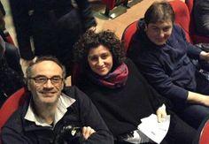 """#parlailpubblico #TeatriDICivitanova """"Il teatro è importante perché insegna come vedere le cose belle che ci circondano"""" (Franco di Pollenza, Maia e Christian di Macerata) 25 marzo 2014"""