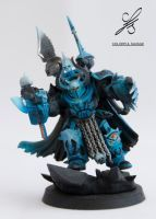 Chaos Space Marines Terminator Lord by Colorfulsavage