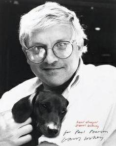 David Hockney #TheUpwardDog #SausageStars