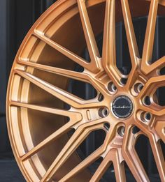 Brixton Forged VL4 Ultrasport+ finished in Brushed Rose Gold Satin Clear / Pricing? DM or +1.888.23.WHEEL #WheelsGram Custom Forge, Forged Wheels, Concave, Brixton, Satin, Rose Gold, Shoe, Wheels, Zapatos