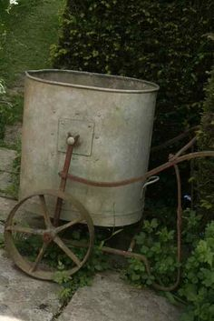 ~Old watering can~