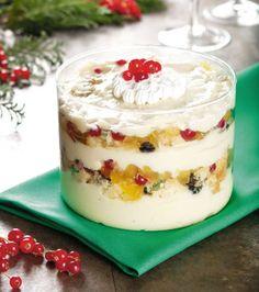 Revista Champagne News: Creme Gelado de Panetone - sobremesas de natal, receitas natalinas