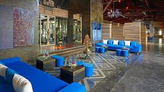 industrial hotel lobbies - Google Search