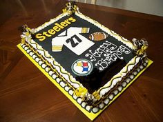 Steeler cake