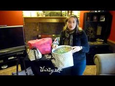 My wife in a cute video about a bad Easter basket, then explaining the great customer special for March 2012 for Thirty-One Gifts. http://www.mythirtyone.com/CarmenCurts/