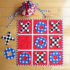The best ideas for sewing gifts for kids! Use these fun DIY kids toys sewing tutorials and free patterns to make the best presents for kids. Quilting Projects, Sewing Projects, Sewing Crafts, Projects For Kids, Crafts For Kids, Project Ideas, Sewing Tutorials, Sewing Patterns, Tic Tac Toe Game
