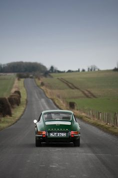 Not quite sure where this is, but driving a classic 911 in the english countryside is definitely a dream of mine.