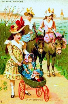 MY DOLLY & ME~riding horses.