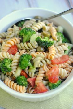 Italian Broccoli and Pasta Salad Recipe