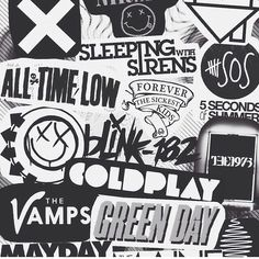ugh, all of my favorite bands like no, joke...only one missing is Pierce The Veil