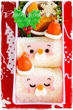 Santa sandwich