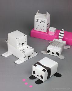 無地の包装紙が変身するかわいいラッピング方法 – プレゼント小ネタ帳