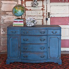 refinished dresser ideas   Painting and Refinishing Furniture: Passion for Design