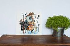 watercolor painting of animals - Google Search