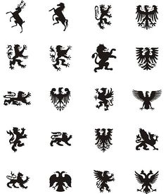 family crest symbols meaning - Google Search