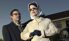 Supersizers (Giles Coren and Sue Perkins) You can check her out on youtube or simply go to my Now See Here board for a starter selection.