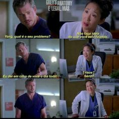 Mark and Cristina. Cristina Yang, Grey's Anatomy, Series Movies, Movies And Tv Shows, You Are My Person, Lexie Grey, Greys Anatomy Memes, Orange Is The New Black, Pretty Little Liars