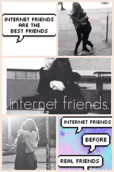I want to meet my internet friends so badly ❤️
