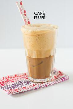 Café Frappé #recipe | Photography: Audrey's - audrey74.com  Read More: http://www.stylemepretty.com/living/2014/07/15/cafe-frappe/