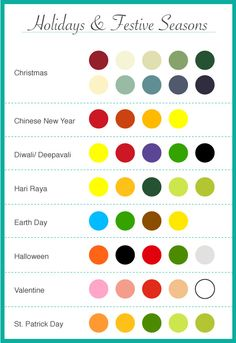 From #Piktochart  - choosing colors for infographic. Good rules of thumb in general