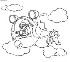 Agent Oso Riding Whirly Bird Coloring Pages One Of The Most Popular Page In Category Explore More Like