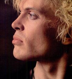 Billy Idol. great profile, such a strong face