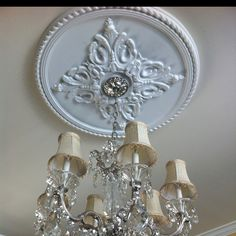Love my ceiling medallions