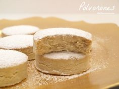 Polvorones - MisThermorecetas Good Food, Yummy Food, Vanilla Cake, Bakery, Cooking Recipes, Sweets, Cookies, Ethnic Recipes, Desserts