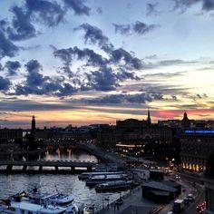 Last Sunset #Stockholm #Sweden - @warsaan11- #webstagram
