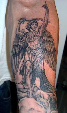 tatuagem de São Miguel 7