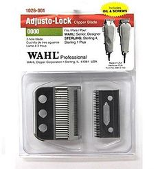 Wahl Adjusto-Lock Clipper Blade For Senior, Designer, Sterling 4, Sterling 1 Plus (0000) #1026-001 $12.49 Visit www.BarberSalon.com One stop shopping for Professional Barber Supplies, Salon Supplies, Hair & Wigs, Professional Product. GUARANTEE LOW PRICES!!! #barbersupply #barbersupplies #salonsupply #salonsupplies #beautysupply #beautysupplies #barber #salon #hair #wig #deals #sales #wahl #trimmer #clipper #blade #senior #designer #sterling4 #sterling1plus #1026001
