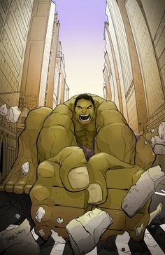 Hulk Smash by Leigh Jeffery