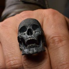 """#Repost @intothefirejewelry  """"Calling for you this holiday season"""" To place order please visit our website -  intothefirejewelry.com  #skull #skulls #skullring  #skullrings #skullpendant #skullart #skullpainting #silverskullring #silverskullrings #skulljewelry #biker #bikerring #lanyard #humanskull #harley #vampire #tattoo #tattoos #rebel #fire #witch #goth #gothic #jewelry #silver #gold #bike #intothefirejewelry"""