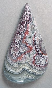 Cab Agate Cabochon Red Grey White Designer Crazy Lace Agate Triangle Agate Cabochon