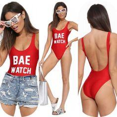 Bae Watch Swimsuit