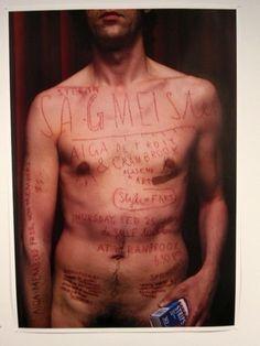 Stefan Sagmeister bodytypography