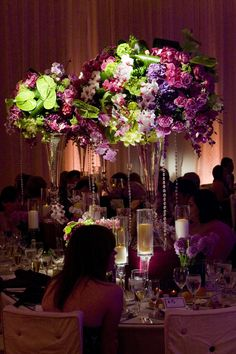 Center piece  Ritz Carlton – Maui, Hawaii | Mindy Weiss HOW VERY BEAUTIFUL!!