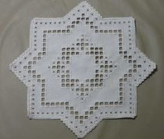 This Pin was discovered by Jan Types Of Embroidery, Learn Embroidery, Embroidery Patterns, Cross Patterns, Doily Patterns, Hardanger Embroidery, Paper Embroidery, Bookmark Craft, Tatting Lace