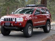 2008-2009 Jeep Grand Cherokee Black CCFL Halo Projector Headlights ...