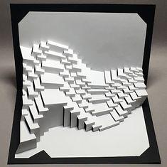 Ullagami - geometric kirigami pop-ups