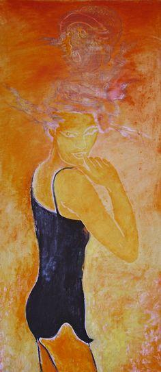 "Yury Ermolenko (Юрий Ермоленко) ""Mescaline"" (""ALICE NEW!"" project) 2005, acrylic on canvas 200x90 cm. #YuryErmolenko #юрийермоленко #ЮрийЕрмоленко #живопись #yuryermolenko #acrylic #picture #painting #art #fineart #contemporaryart #modernart #inspiration #amazing #sexy #wonderland #hot #colorful #texture #RapanStudio #exhibition #psychedelic #metaphysics #cовременноеискусство #mystery #картина #artwork #выставка #alice #fairytale #dream #sensual #fantasy #AliceInWonderland #new #mescaline"