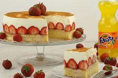 Fanta-Kuchen mit Erdbeeren 1
