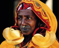 Fulani woman from Mali