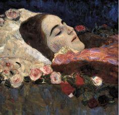Gustav Klimt: Ria Munk On Her Deathbed